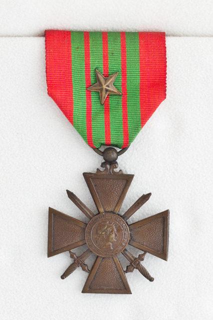Croix de Guerre. By Guillaume Piolle – CC BY 3.0