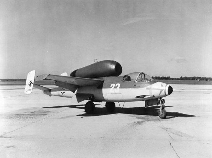"The Heinkel He 162, one of Hitler's ""Dream Machines""."