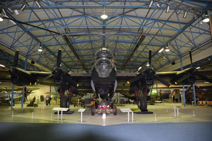 The Lancaster Bombert at The RAF Museum. Image by Hugh Llewelyn CC BY-SA 2.0