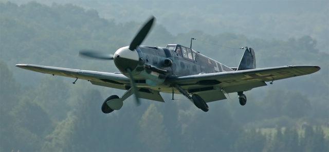 A rebuilt Messerschmitt Bf 109 G-2. By Kogo – CC BY-SA 2.0