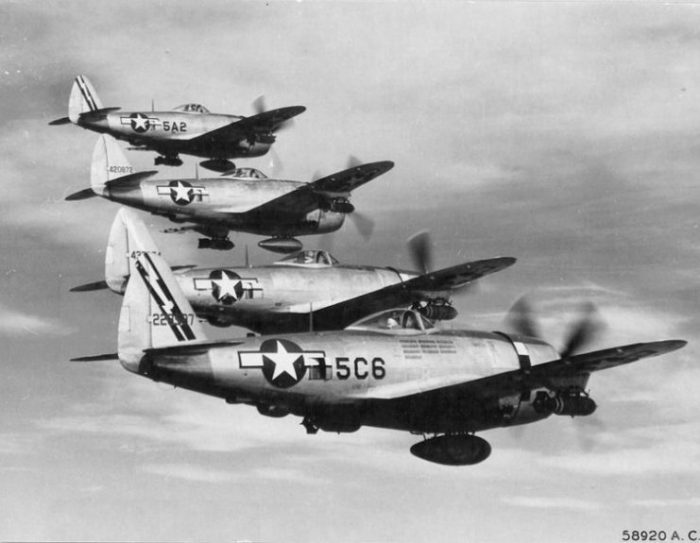 345th Fighter Squadron, 350th Fighter Group, 12th Air Force.