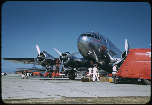 A TWA Boeing 307. Image by IMLS Digital Collections & Content CC BY 2.0