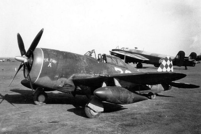 P-47 of the 325th Fighter Group