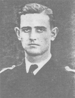 Schamong Klemens, captain of U-468