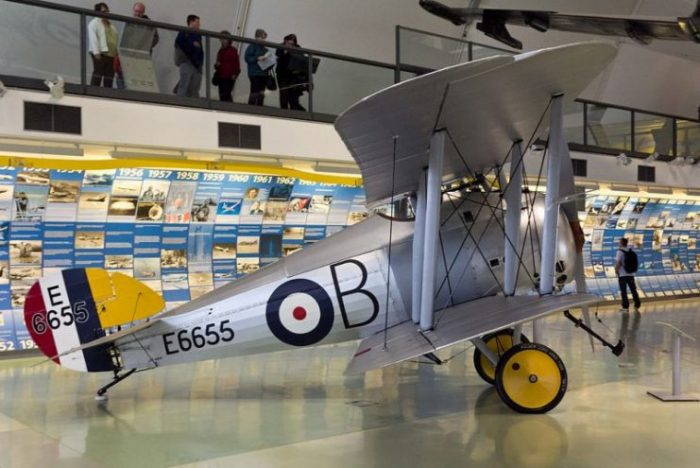 Sopwith Snipe at the RAF Museum in Hendon. Photo Oren Rozen CC BY-SA 3.0.
