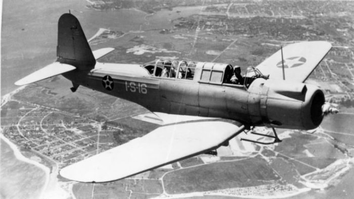 Vought SB2U-3 Vindicator VS-1