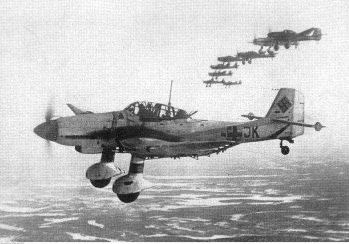 The legendary Junker Ju 87 Stuka.