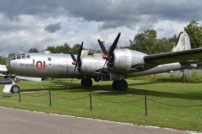 The Soviet Tupolev Tu-4. Image by Alan Wilson CC BY-SA 2.0