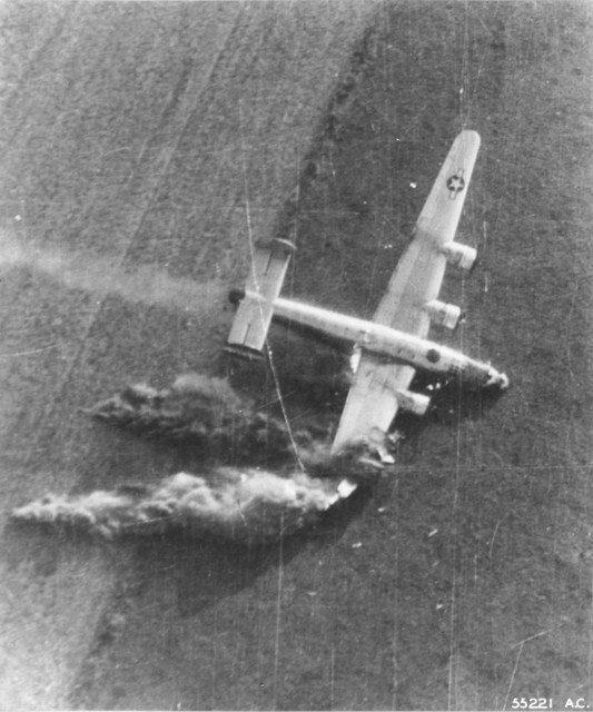B-24 Liberator Crashes