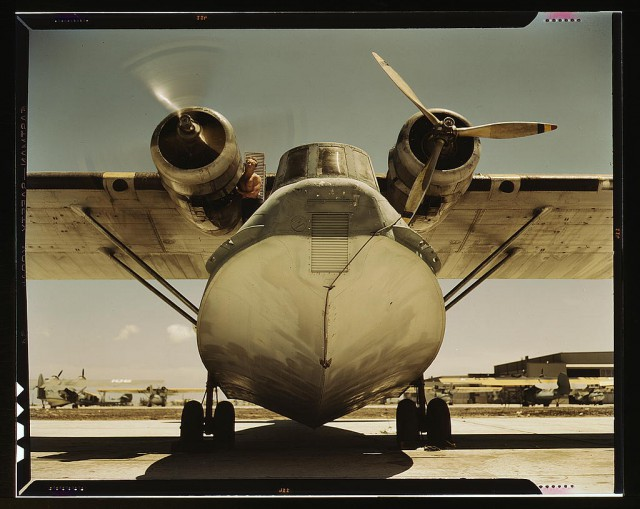 Consolidated PBY patrol bomber.