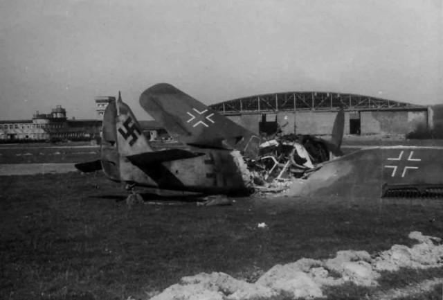 Destroyed Fw 190