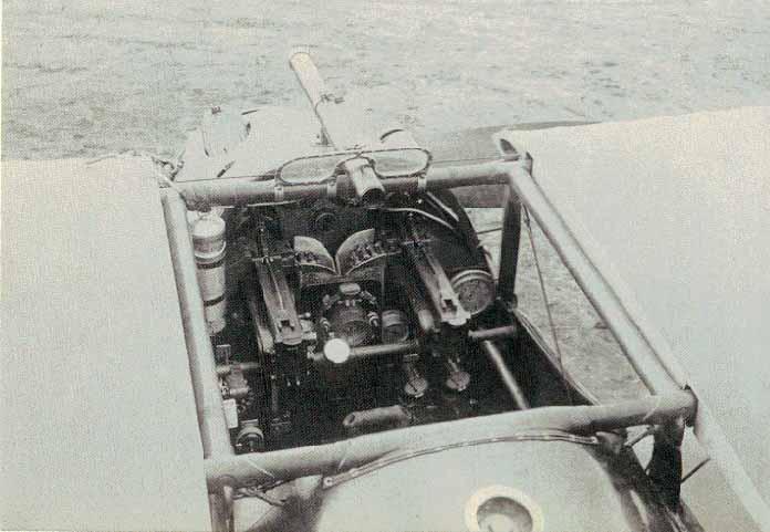 Dolphin cockpit.