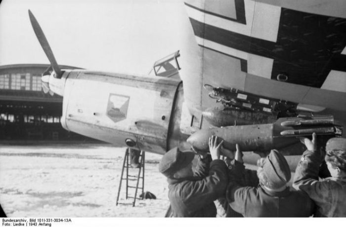 Eastern Front, Focke-Wulf Fw 189.Photo Bundesarchiv, Bild 101I-331-3034-13A Liedke CC-BY-SA 3.0
