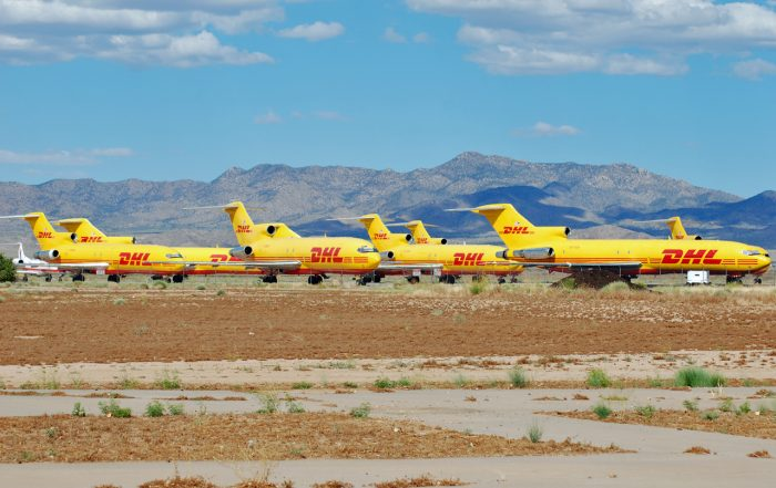 Kingman AAF is still used for aircraft disposal, albeit to a much lesser extent. Image by Eddie Maloney CC BY-SA 2.0.