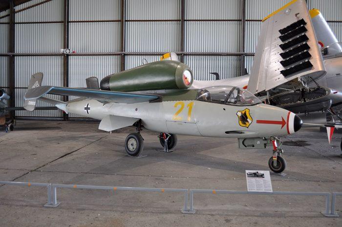 The He 162 Salamander. Image by ERIC SALARD CC BY-SA 2.0.