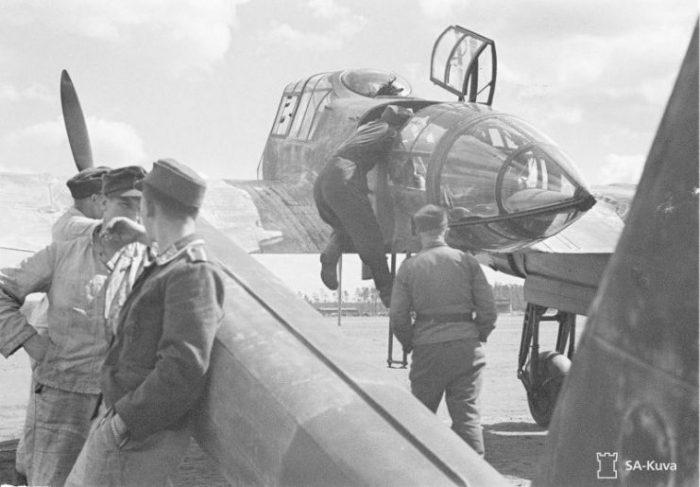 Focke-Wulf Fw 189 A of the 1.(H) 32 June 1943
