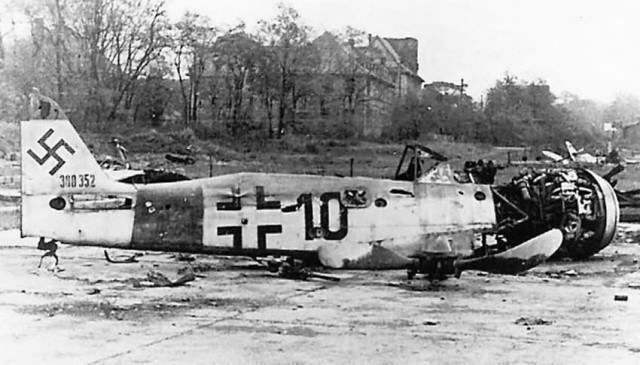 Focke-Wulf Fw 190 black 10