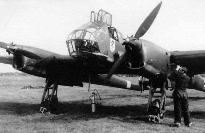 Fw 189 A-1 Uhu code KC+JL from Flugzeugführerschule A B 5