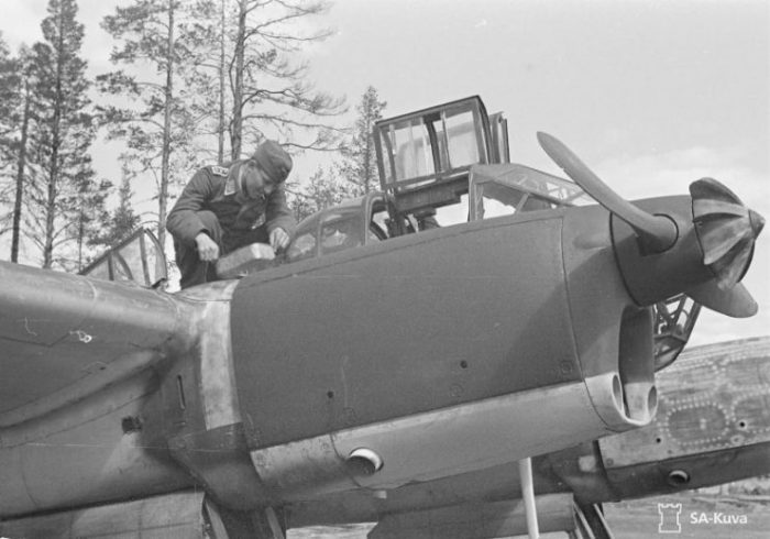 Fw 189 A-3 Uhu of the 1.(H) 32 V7+1J June 1943
