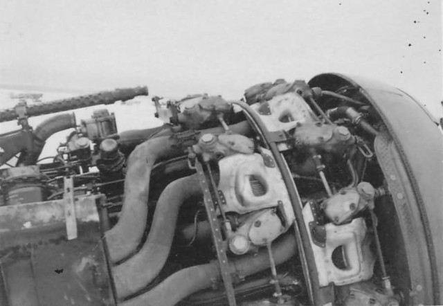 Fw 190 A of 2 JG 51 Lt. Joachim Brendel Winter 1942 1943. Engine BMW801
