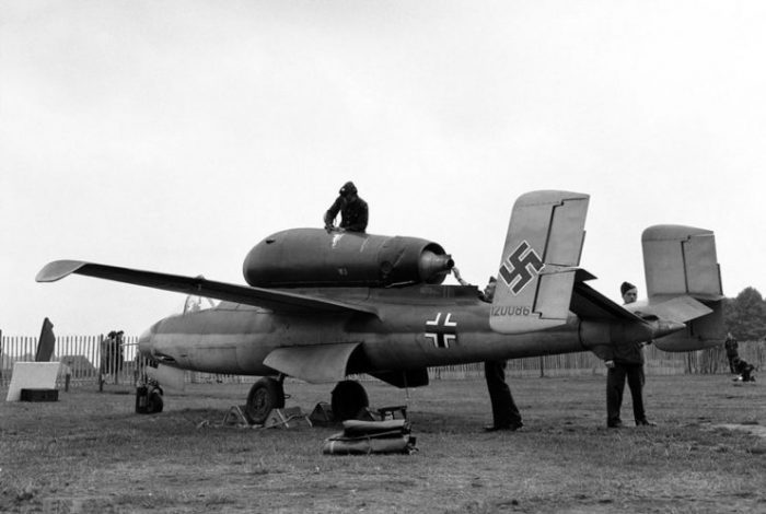 The He 162 was a potentially dangerous aircraft if flown incorrectly.