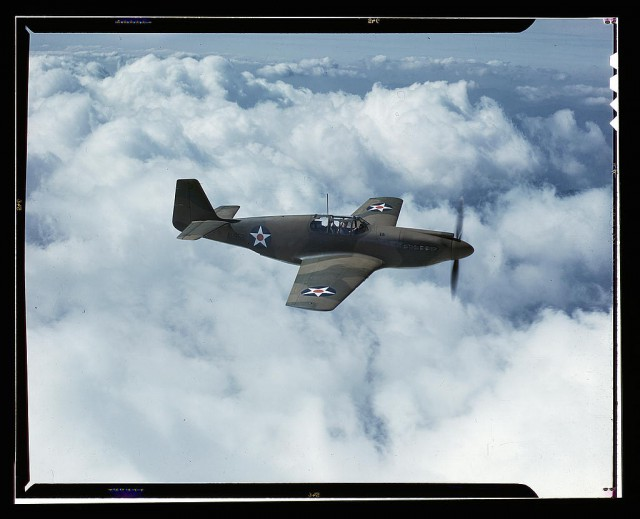North American's P-51 Mustang Fighter is in service with Britain's Royal Air Force, North American Aviation, Inc., Inglewood, Calif.