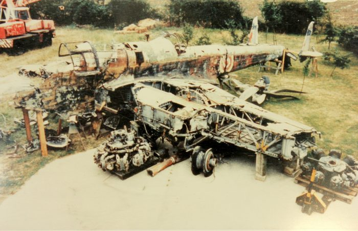P1344 as she looked in 1992 when undergoing inspection by the RAF Museum. Image courtesy of Royal Air Force Museum Cosford.