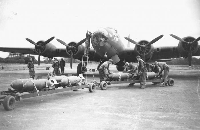 The B-24's brother, the B-17.