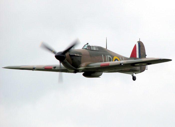 Restored Mk1 Hurricane