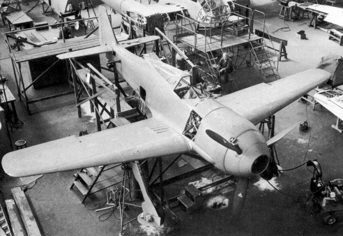 The V1 Focke-Wulf Fw 190 prototype. (Focke-Wulf Flugzeugbau AG)