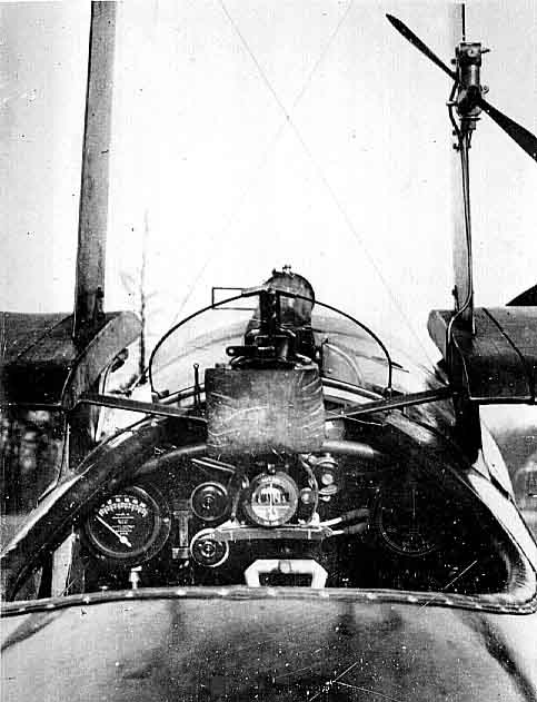 Triplane cockpit.