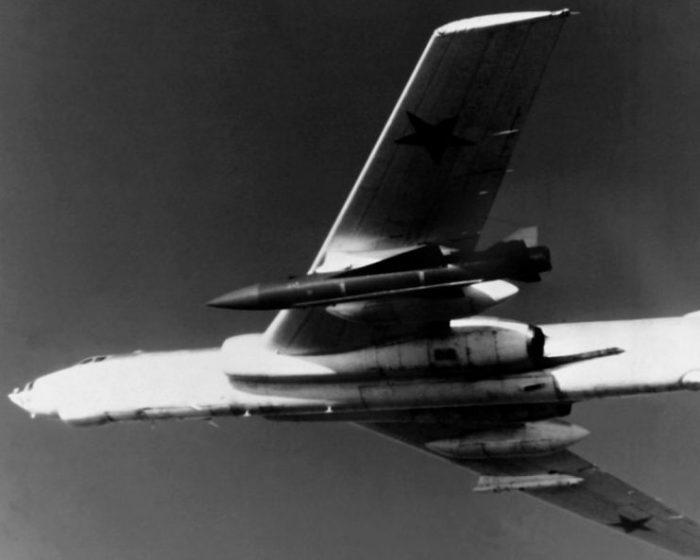 Tu-16 Badger G with KSR-5 missile
