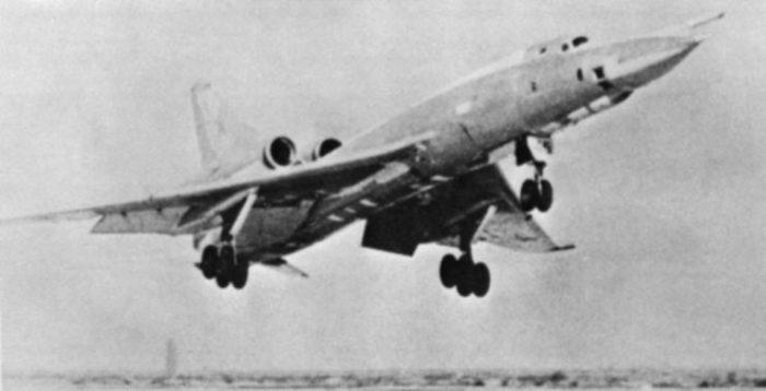Tu-22 Blinder landing