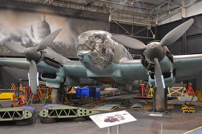 A German Heinkel He 111. Image by Alan Wilson CC BY-SA 2.0.