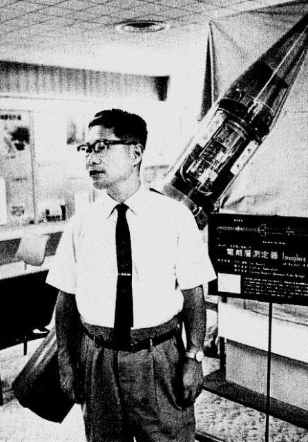 """Hideo Itokawa – a pioneer of Japanese rocketry, popularly known as """"Dr. Rocket,"""" and described in the media as the father of Japan's space development."""
