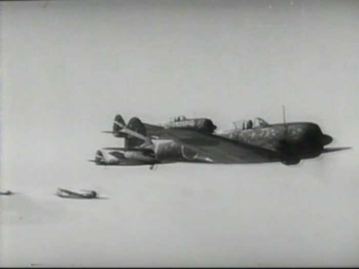 "Nakajima Ki-43 from ""Kato hayabusa sento-tai (Colonel Kato's Falcon Squadron)""."