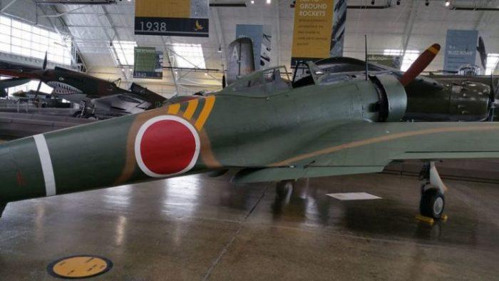 Nakajima Ki-43-IB Oscar at the Flying Heritage Collection.Photo Articseahorse CC BY-SA 4.0