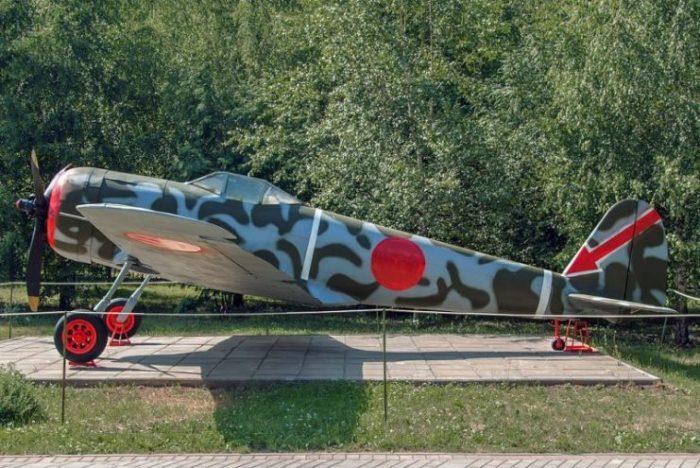 Nakajima Ki-43-II Hayabusa in the Great Patriotic War Museum.Photo Mike1979 Russia CC BY-SA 3.0