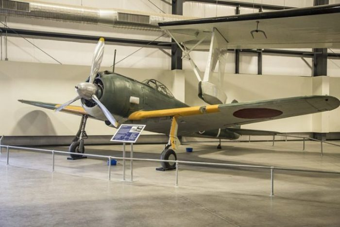 Nakajima Ki-43-II – at Pima Air Space Museum