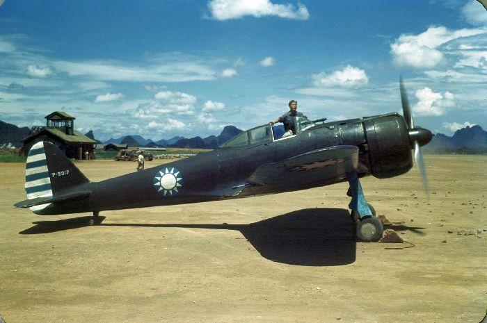 Nakajima Ki43 II, P-5017, Chinese Air Force