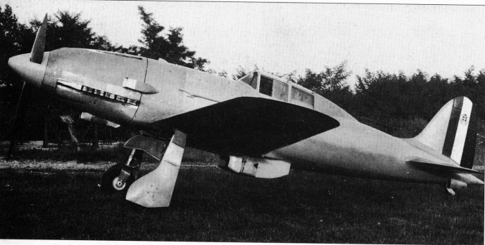 Macchi C.202 Folgore prototype