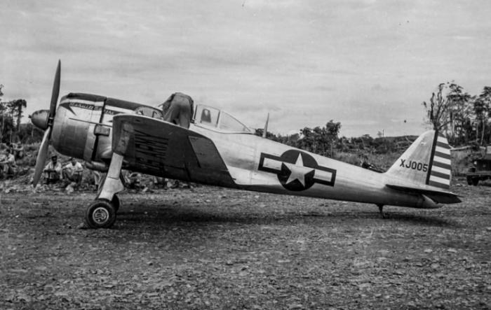 US Ki-43-II Otsu code XJ005 Hollandia 1944