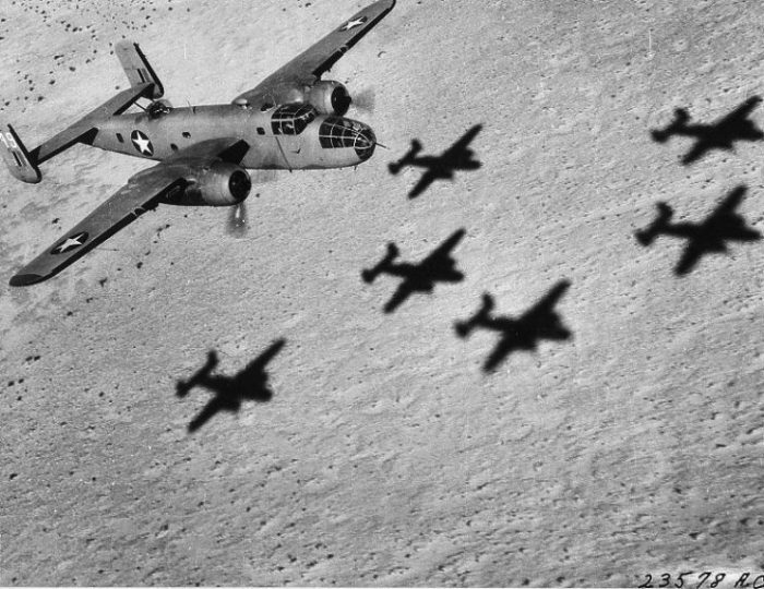 B-25 Mitchell of the USAAF 12th Bombardment Group