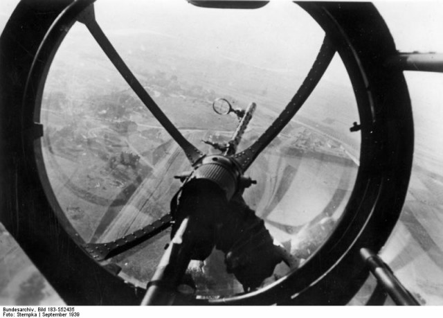 From the nose gunner's view (Bundesarchiv, Bild 183-S52435 Stempka)