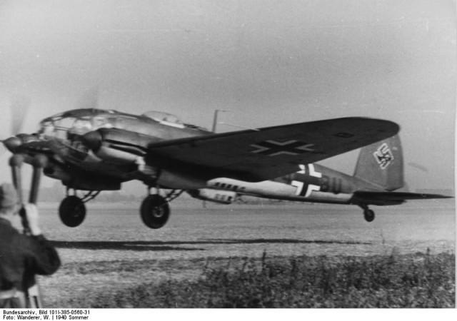 Kampfgeschwader 1 (KG 1) France – June 1940 (Bundesarchiv, Bild 101I-385-0560-31 Wanderer, W.)