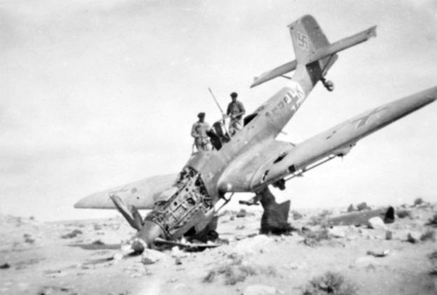 Dive bombing required a skilled pilot with nerves of steel. This unfortunate event was a first hand display of the inherent dangers involved with dive bombing.