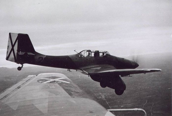The unique shape of the Ju-87 Stuka was carefully crafted through trial and error.