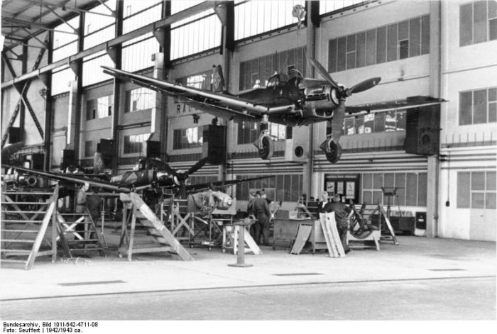Stuka Production ran from 1936 until 1944, but the aircraft would fly missions until the wars end. Image by Bundesarchiv CC BY-SA 3.0 de